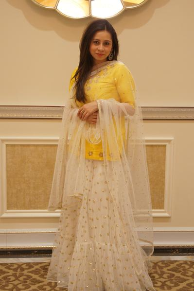 Mango Lehenga Peach Project