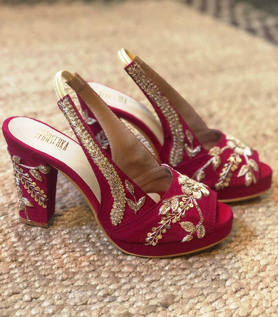 Where To Shop Wedding Shoes In India