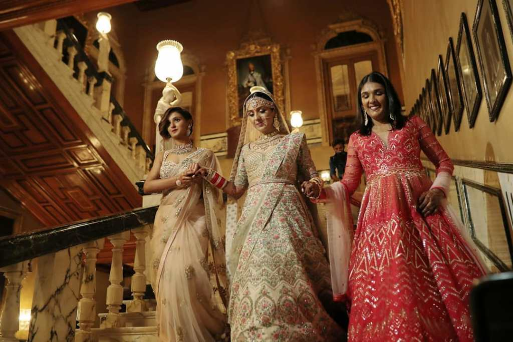 Mohan Sisters Wedding Outfits