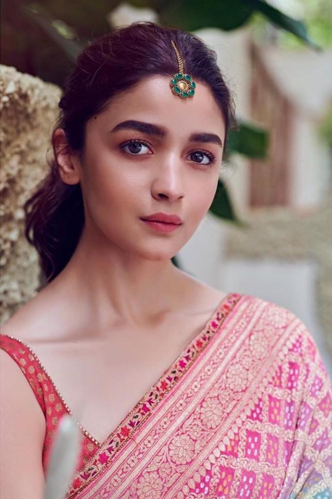 Alia Bhatt in Saree