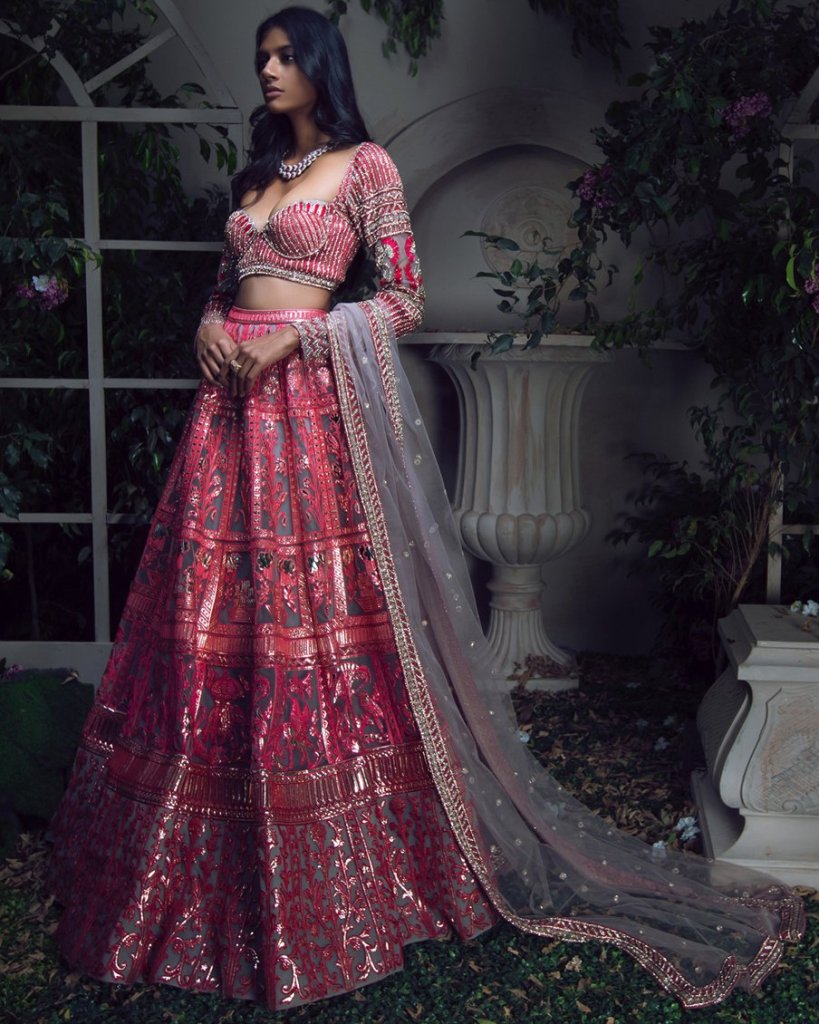 Reception Lehenga