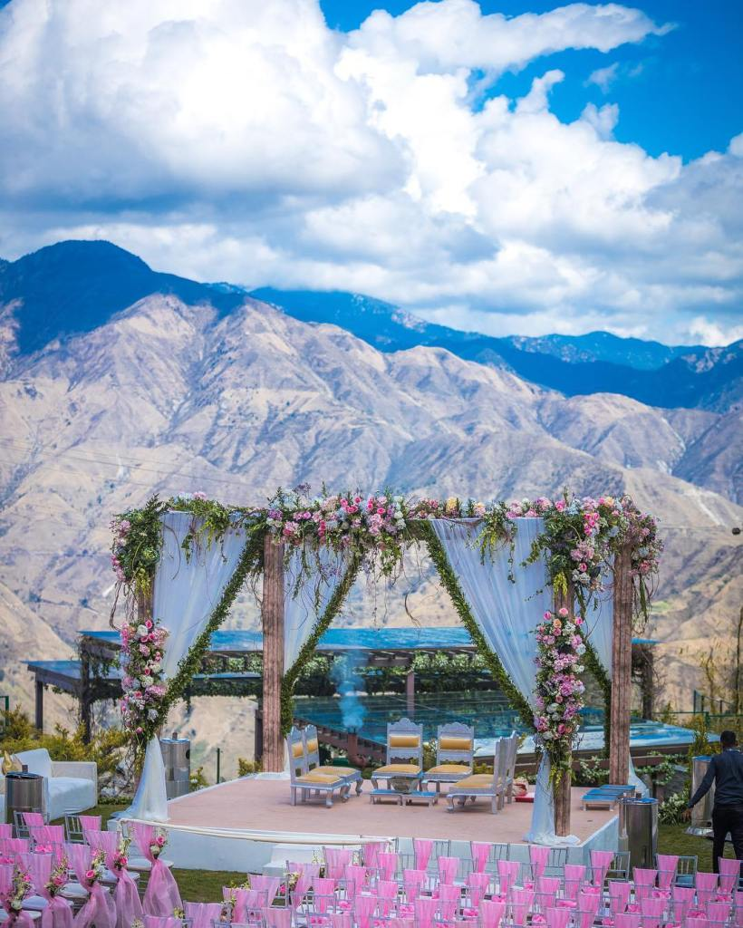 Mussoorie Destination Wedding Decor