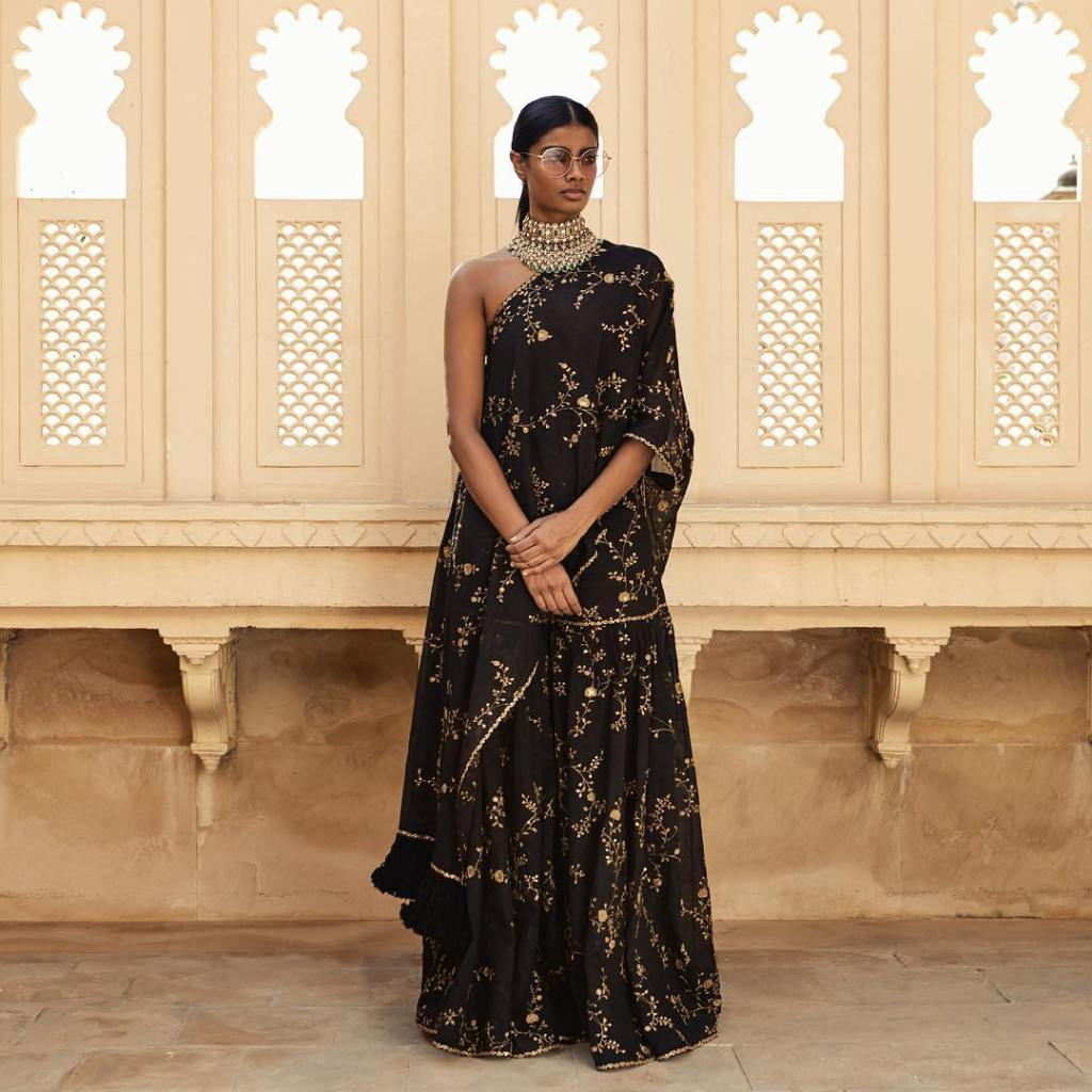 Sabyasachi Black Summer Gown