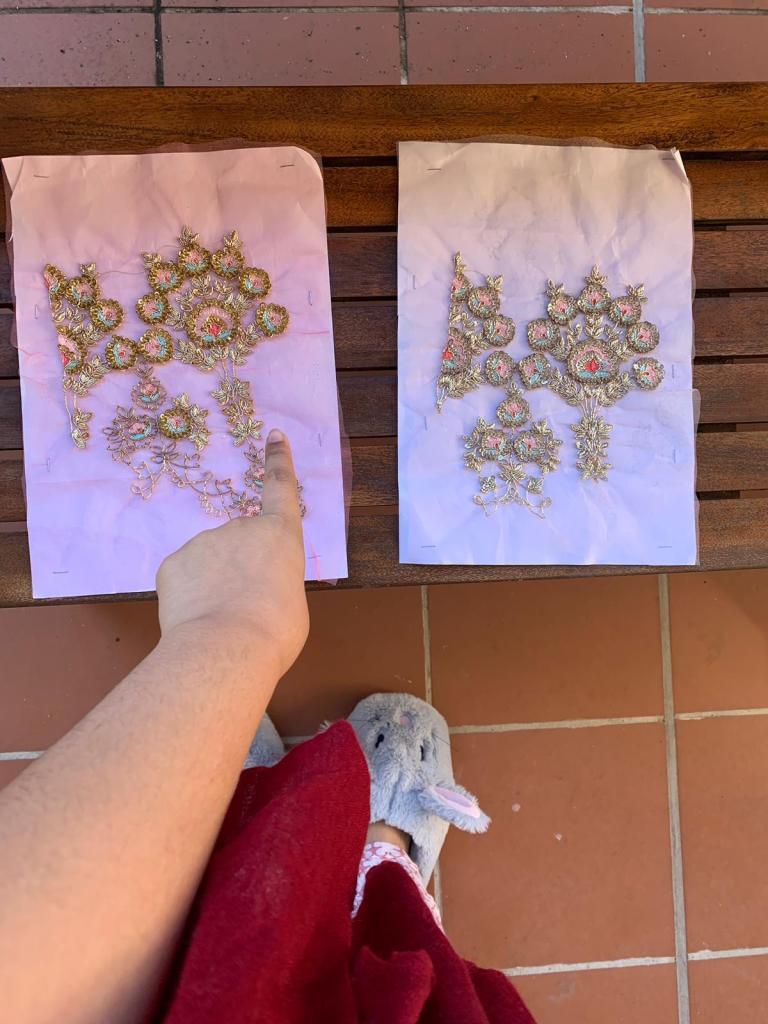 Embroidery Swatches