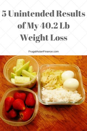 5 Unintended Results of My 40.2 Lb Weight Loss - Frugal ...