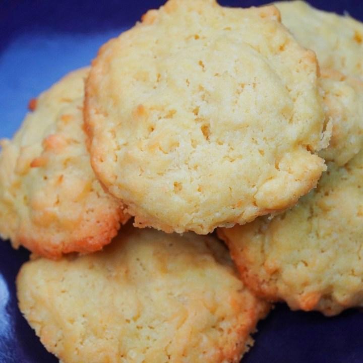 1950s Coconut Biscuits