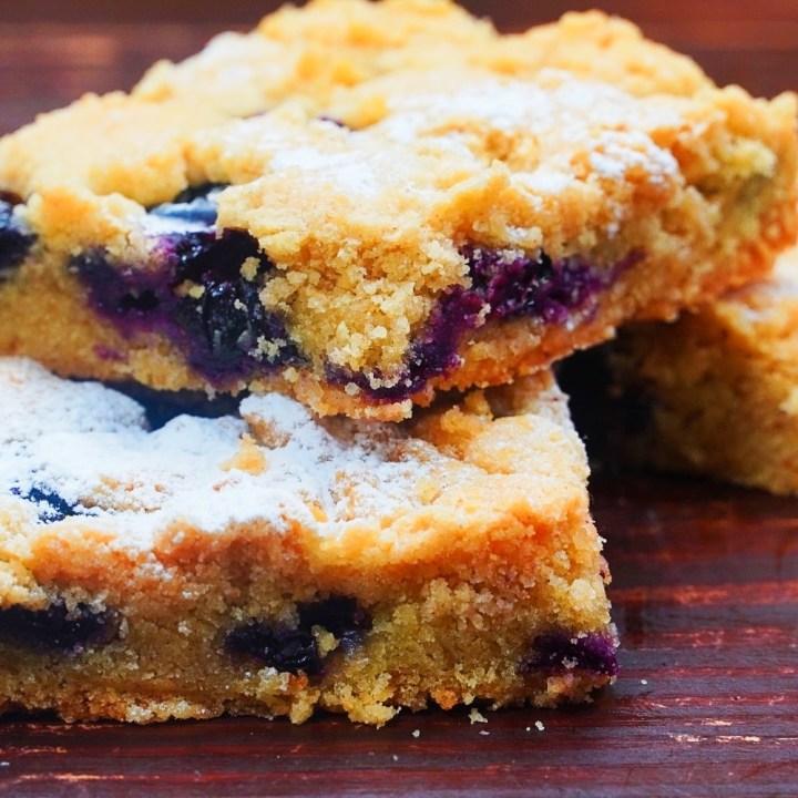 Amish Blueberry Bars