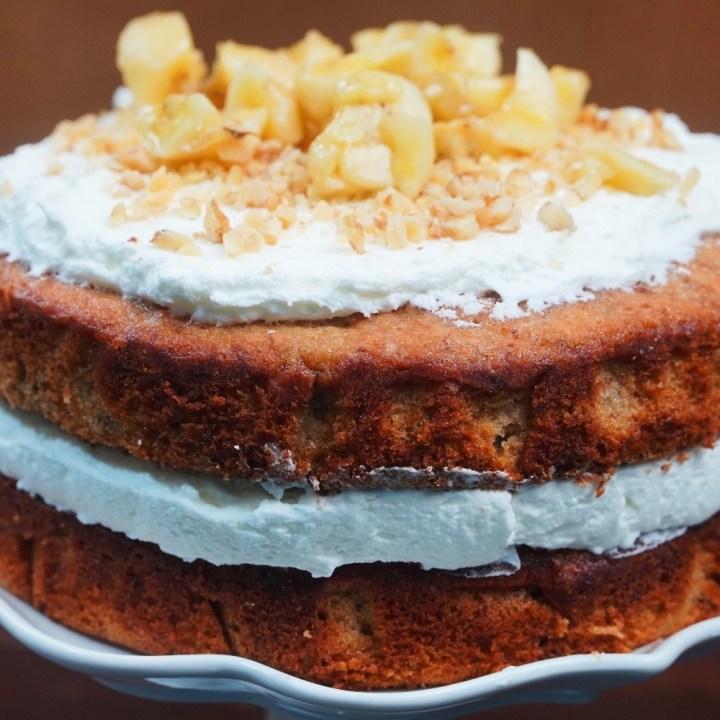 Vintage Banana Cake