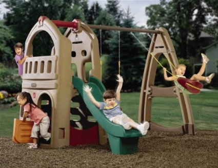 LOWERED Save $245 on this — Step2 Naturally Playful Playhouse Climber & Swing Extension!!!!