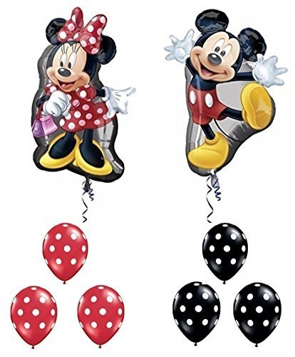 DISNEY 12 Mickey & Minnie Mouse Ears only $11.46!! Photo props & more party supplies!!