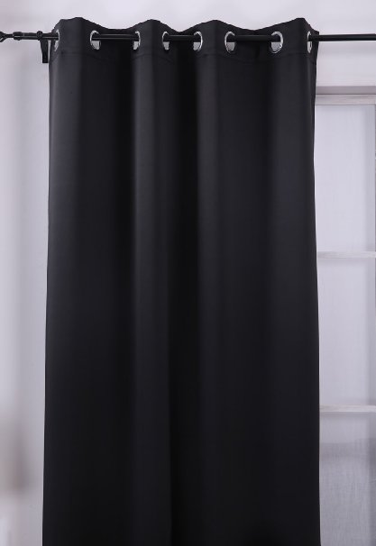 Thermal Insulated Blackout Panel Curtains – Only $13.56!!