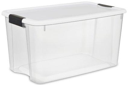 BEST Price on 4 pack – Sterilite 70 quart Tubs w/lids!