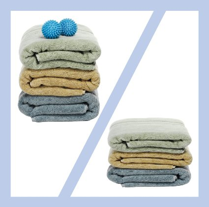 Amazon: Dryer Ball set – leaves clothes light & Fluffy! Only $5!
