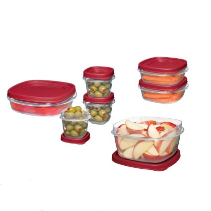 72% off – Rubbermaid Easy Find Lid Food Storage Container – 18-Piece Set!!
