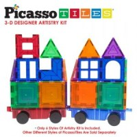 58% off this 42 piece Picasso Tiles - Magna Tiles set only $32.99!!