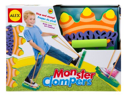 MORE Great Alex Toy Deals – Monster feet & Chalk – $7!