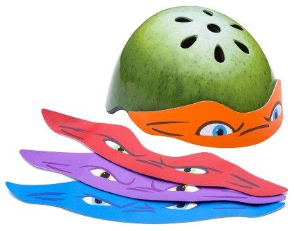 Amazon: Ninja Turtle helmet with changeable mask! Adult helmet only $11.60!