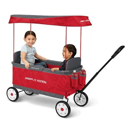 Radio Flyer Kid's Ultimate EZ The Best Folding Wagon Ride On – save $40!!