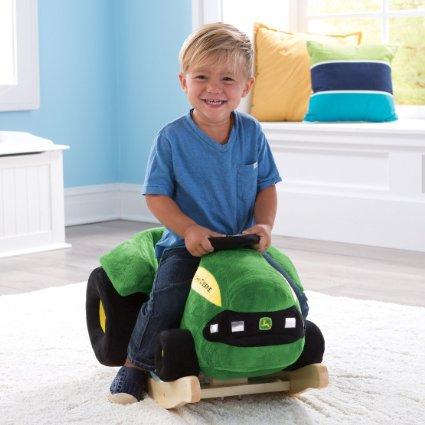 Amazon: Ertl John Deere Plush Rocking Tractor Only $42.38 (reg. $80)