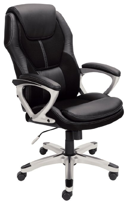 Serta 43673 Faux Leather & Mesh Executive Chair- Only $85.25 (reg. $151.55)