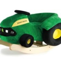 Amazon: Ertl John Deere Plush Rocking Tractor Only $42.38 (reg. $80)