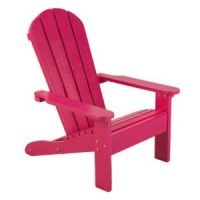Adirondack chairs - only $29.99 (reg. $50!!) Pink or Gray! + FREE prime ship!