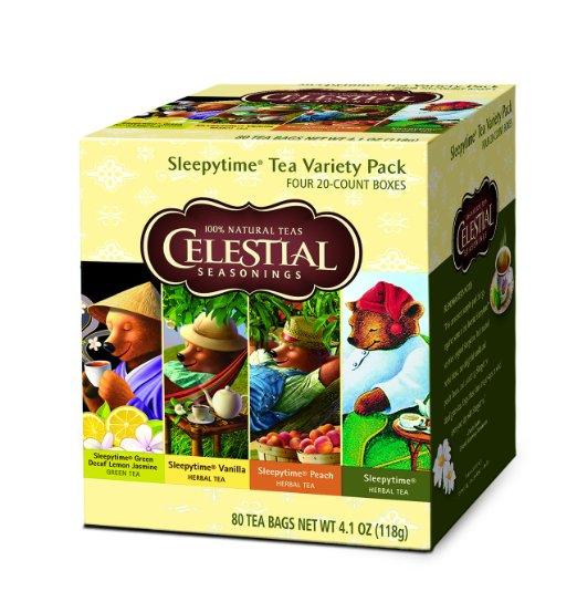 Amazon: Celestial Seasonings Sleepytime Tea Variety Pack, 80 Count – Only $11 (reg. $18)