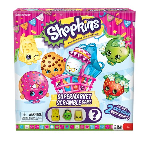 Amazon: Shopkins Supermarket Scramble Board Game – Only $9