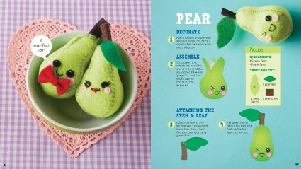 Sew Mini Treats: More Than 18 Food Plushies to Stitch & Stuff – only $13