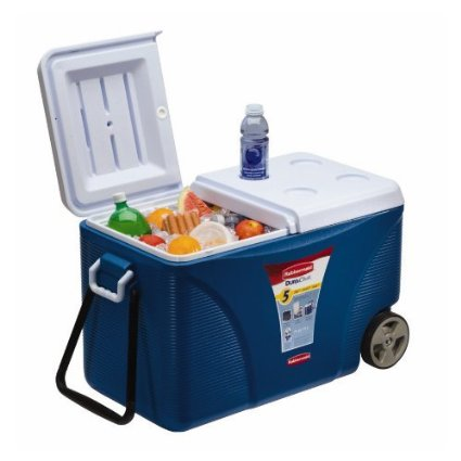 55% off! Rubbermaid Extreme 5-Day Wheeled Ice Chest/Cooler, 75-Quart – Only $39.97 (reg. $88.58)