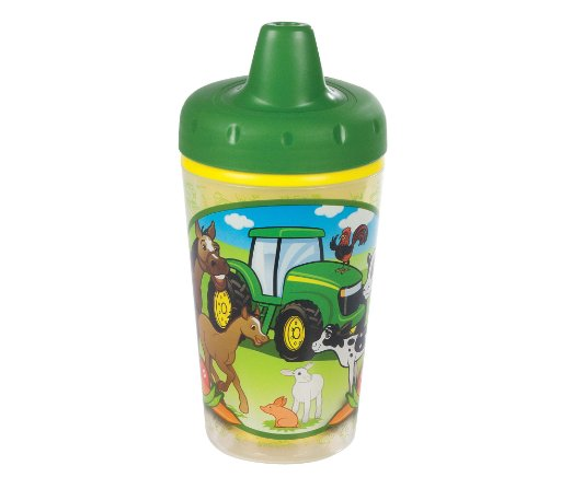 20% off – John Deere Insulated Sippy Cup with One Piece Lid – $4.99