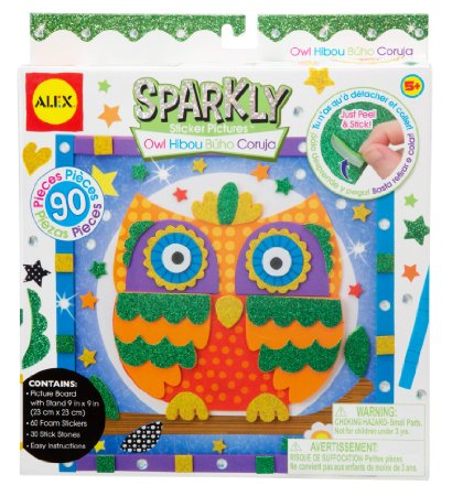 Amazon: ALEX Toys Craft Owl Sparkly Sticker Pictures Kit – Only $5.50!!