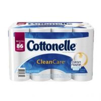 Cottonelle CleanCare Family Roll Toilet Paper Bath Tissue - Only $16.49 = 86 reg. rolls!
