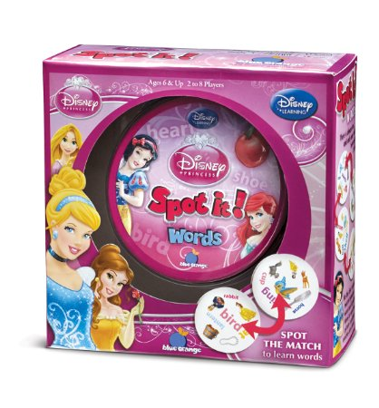 Spot it! Game –  Disney Princess, Jake the Pirate & Halloween! As low as $6!