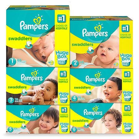 PAMPERS Diapers up to 50% off!! As low as $0.09 a diaper!