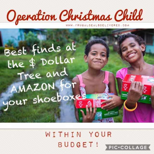 Operation Christmas Child 2019 List.Best Finds At 1 Store And Amazon For Your Occ Shoeboxes