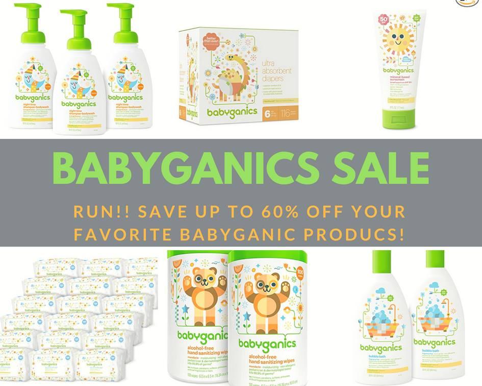 Babyganics *FLASH SALE!* up to 60% off!! Frugal Deals 5/15