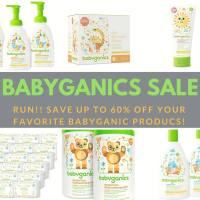 Babyganics *FLASH SALE!* up to 60% off!! Frugal Deals 5/15