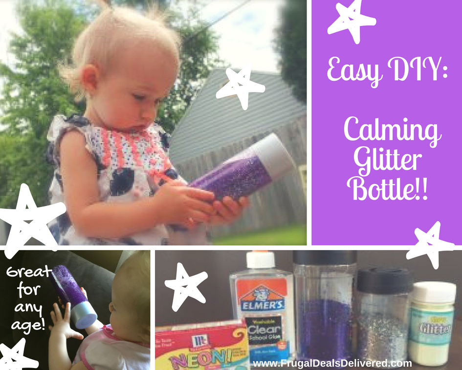 DIY Summer Craft!! Calming / Sensory relaxation Bottles for any age!