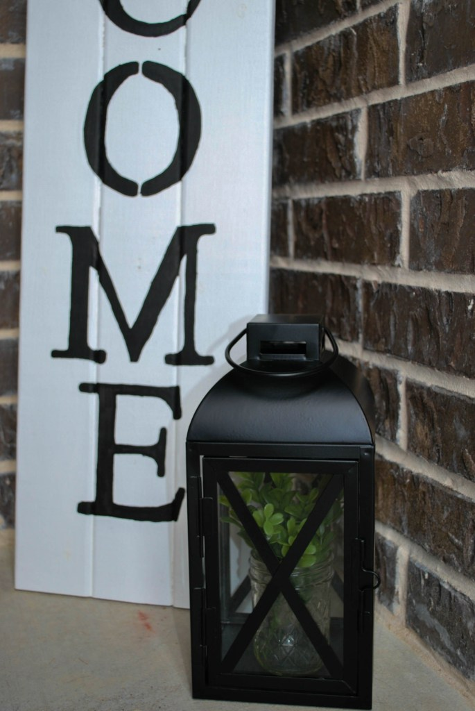 Outdoor Lanterns, Faux Florals, Walmart Find, Spring Porch Decor Refresh