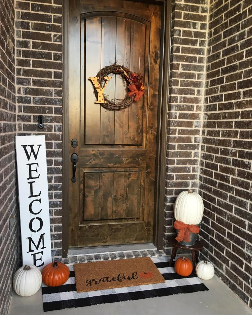 Fall Home Tour; Simple Fall Decor; Home Tour 2018
