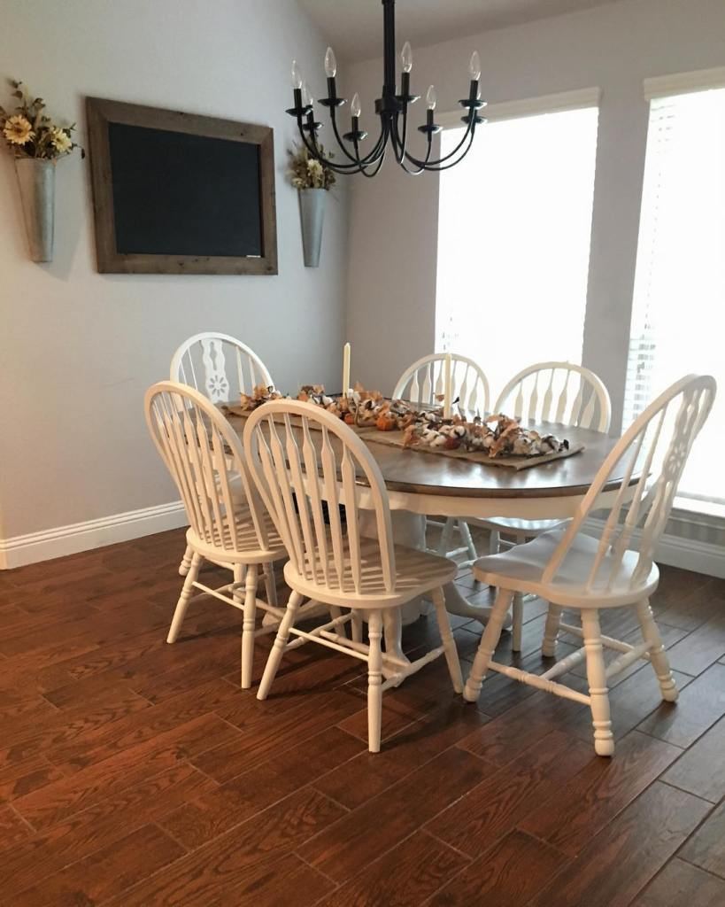 Fall Home Tour, Simple Fall Decor, Home Tour 2018, Fall Dining Room Decor