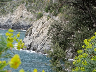 The gorgeous and rugged Cinque Terre coastline