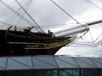 bow of a nineteenth century sailing ship