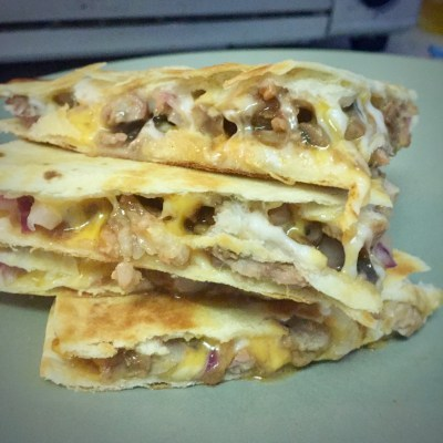 Recycled Feast – Anything Goes Quesadillas