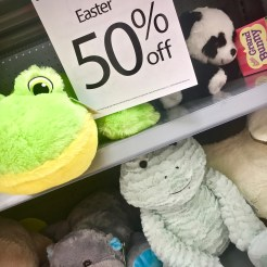 stuffed animals on clearance after Easter - 10 Things To Do With After-Easter Clearance Items
