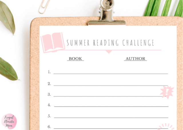 Summer Reading Challenge - Printable Games For Easy Summer Learning