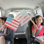 4th Of July Kids Flag Craft