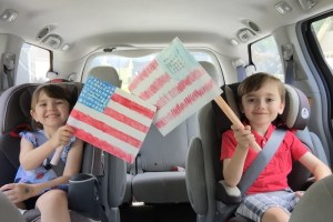 Free Fourth Of July Flag Craft Printable
