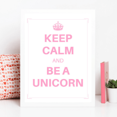 Unicorn Birthday Party Printables – Giant Bundle!